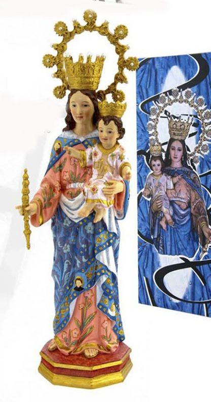 Figura Religiosa Virgen María Auxiliadora de 30 cm