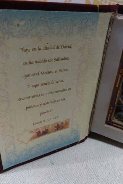 Libro Nacimiento con Oración y Figura