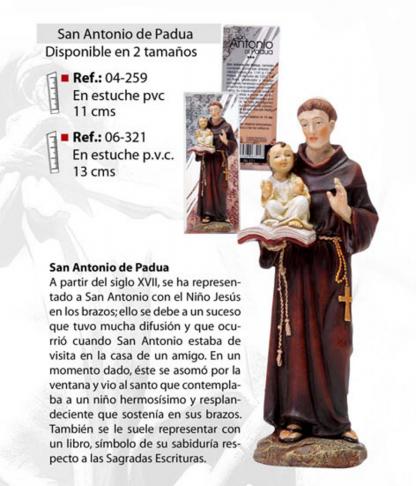 Figura Religiosa San Antonio de Padua