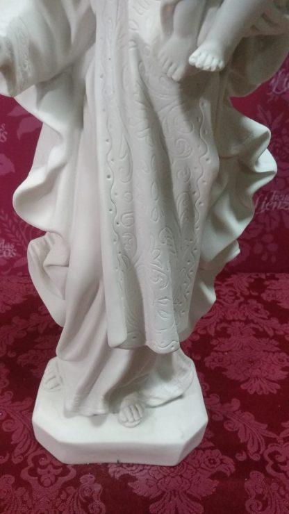 Virgen del Carmen de 46 cm