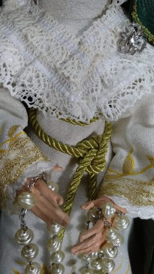 Virgen Macarena de 40 cm